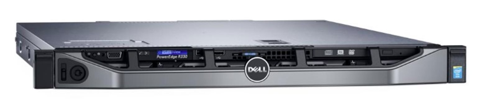 DELL server PowerEdge R330 E3-1230 /16G/ 4x1TB NL-SAS/ H730/ iDrac /2x350W/ 3NBD PS